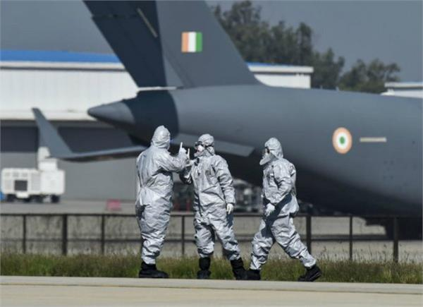 air force sergeant joined nizamuddin tabligi jamaat 3 employees quarantined