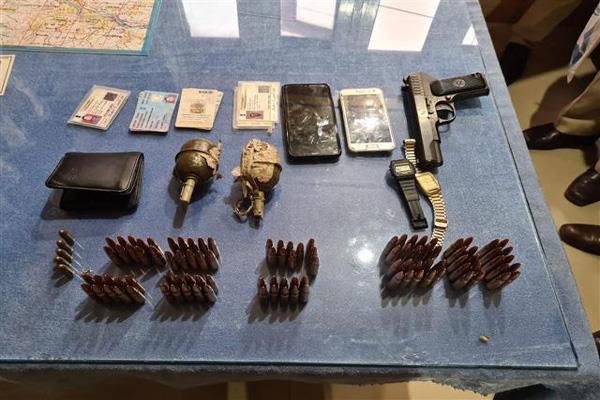 militant arrested in uri