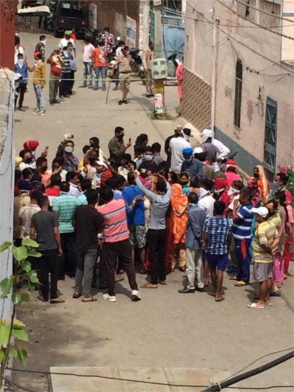 jalandhar protest of people living near harnamadaspur crematorium