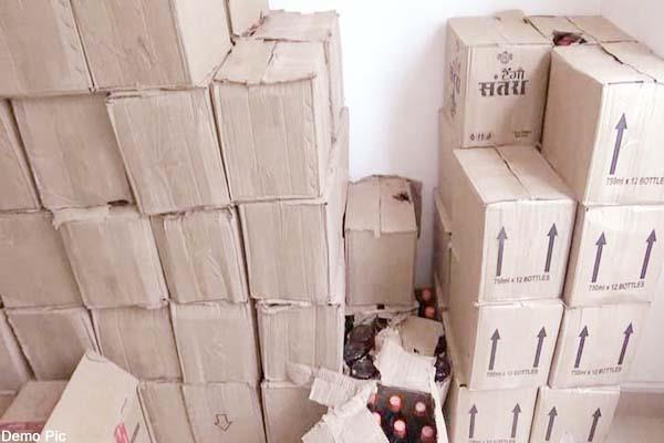bilaspur bolairo liquor recovered
