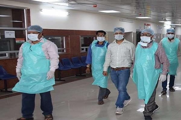 20 positive cases came together in kanpur infected patients increased to 185