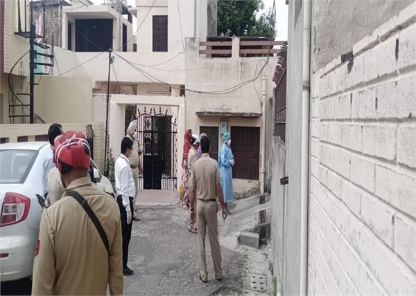 corona panic in jalandhar maqsuda area completely sealed