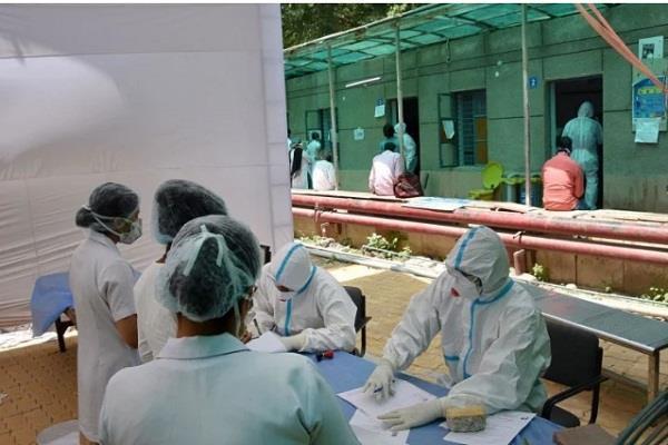 moradabad health department s negligence sent home to corona positive
