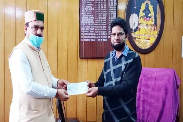 badsar mla chief minister relief fund salary