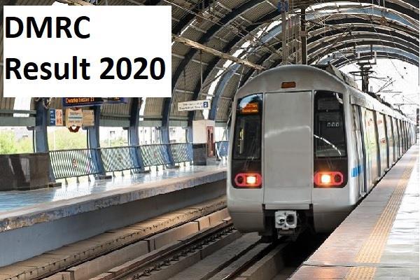 dmrc result 2020 delhi metro releases 1492 posts
