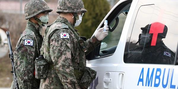 us military base in south korea doing smell test for corona