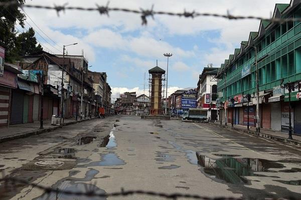 lockdown is not new to kashmir but worries about the current situation