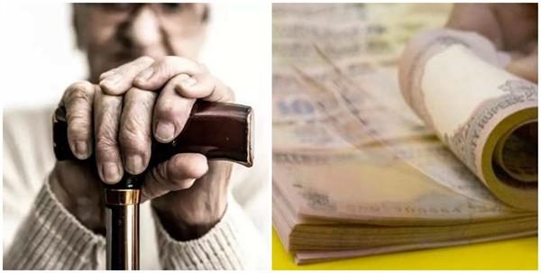 postal department is providing pension to senior citizens at home