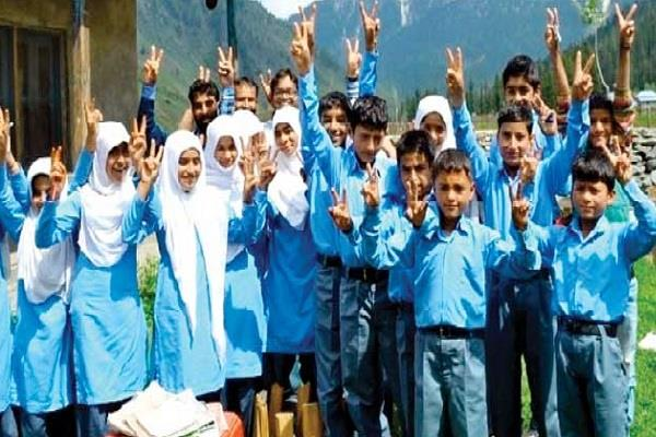 girls from 1st to 9th and 11th classes will be promoted without examination