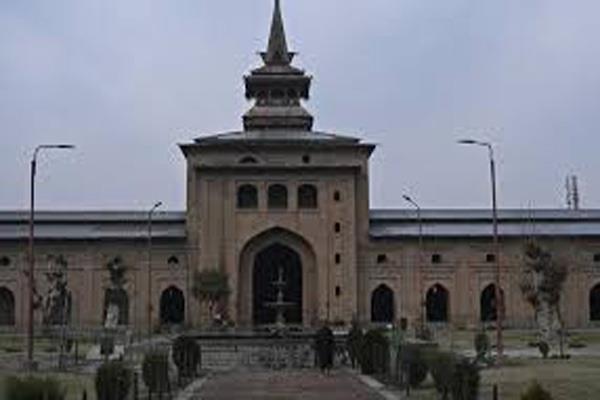 300 people offer namaz in kashmir
