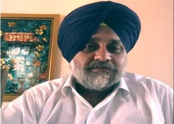sukhbir badal talk about coronavirus