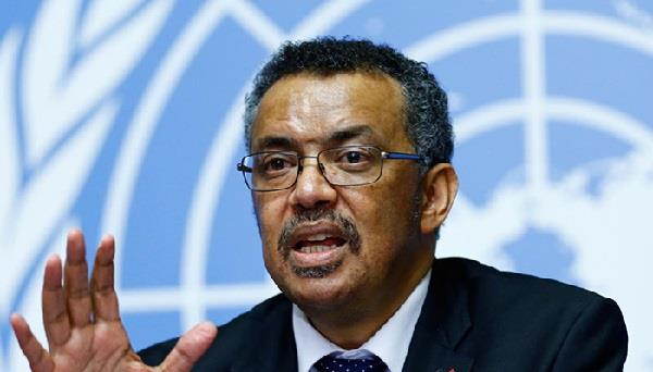 know who is the director general of who dr tedros who is angry with america