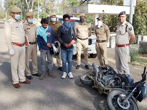 बड़ी सफलता : चिट्टे की खेप के साथ बाइक सवार 2 युवक गिरफ्तार