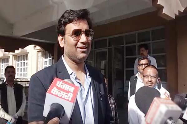 dharamshala administration permission block congress anchor
