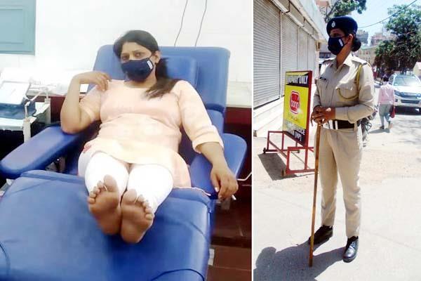 Salute: पहले अस्पताल जाकर गर्भवती महिला को दिया खून, फिर महिला कांस्टेबल ने संभाली ड्यूटी