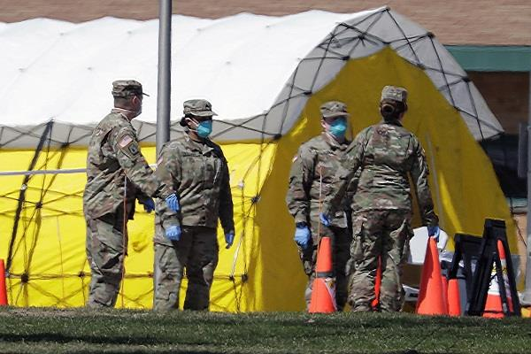 kovid 19 more than 1 000 soldiers on duty in america infected