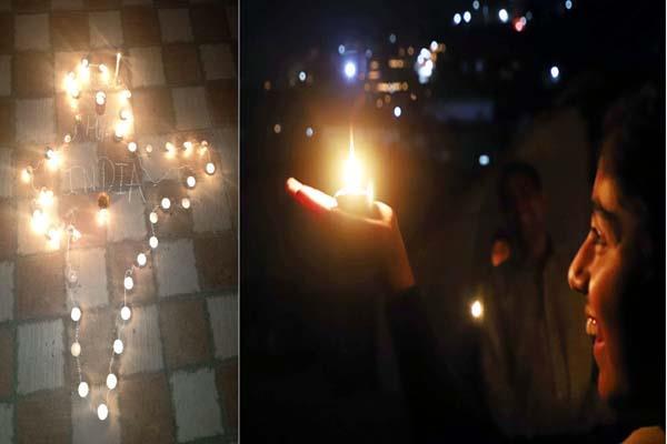 कोरोना से जंग : PM Modi की अपील पर रात 9 बजे 9 मिनट तक दीयों की रोशनी से जगमगा उठा हिमाचल
