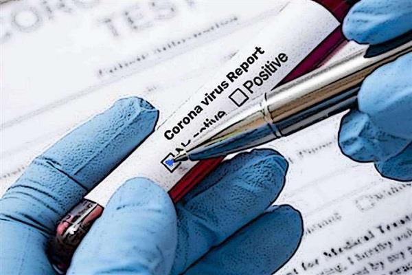 suspected patients including dr talwar corona report negative