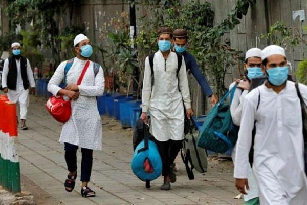 tabligi jamaat people walking around in quarantine center mistreating nurses