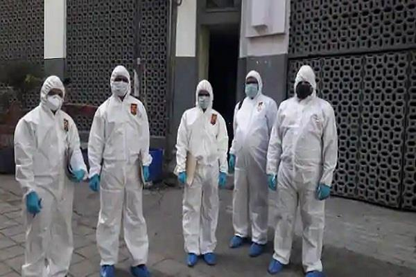 forensic team collected items related to tabligi jamaat from nizamuddin markaz