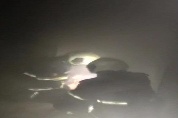 mumbai fire in hotel fortune fire brigade on the spot