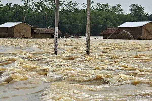 1 94 lakh people affected by floods in assam