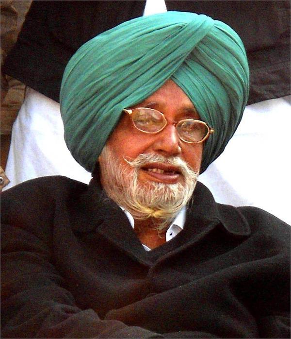 finance minister manpreet badal s father gurdas badal dies