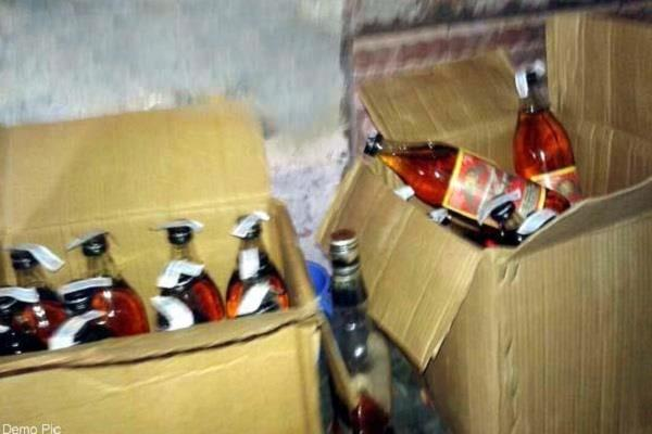 two police employees arrested for 400 cases of alcoholism case registered