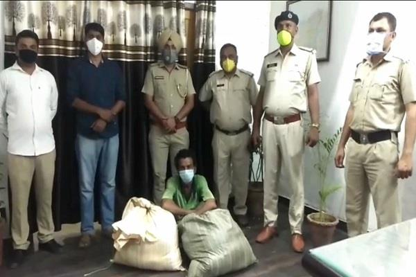 police achieved great success 33 accused with dust and powder
