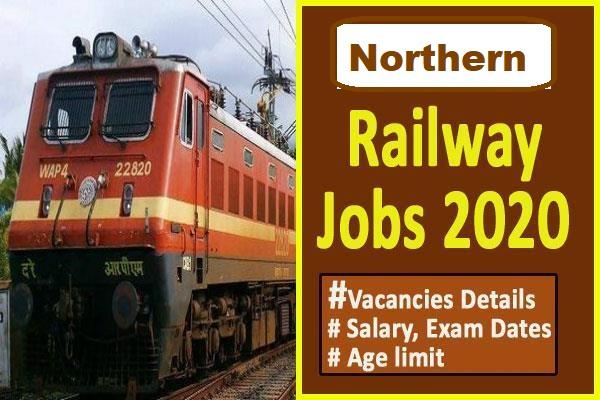 northern railway recruitment 2020 apply for senior resident posts