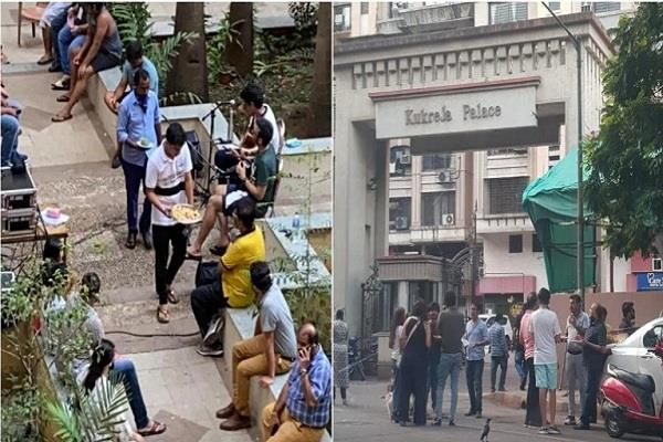 mumbai people got samosa party after lockdown relaxed