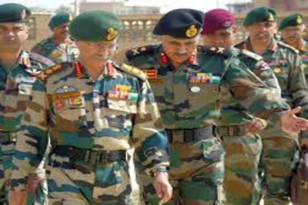 army commander discussed situation on ladakh