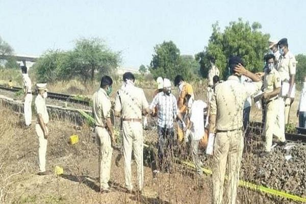 cm shivraj expressed grief over the death of laborers railway accident