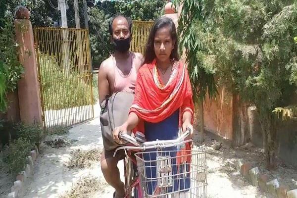 ivanka trump praised to jyoti who reached bihar from cycle