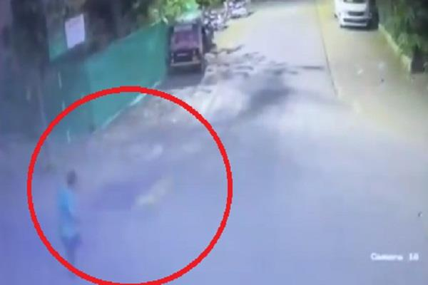 a leopard was seen attacking a man in nashik