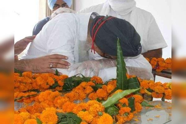 parkash singh badal is in mourning after the departure of younger brother