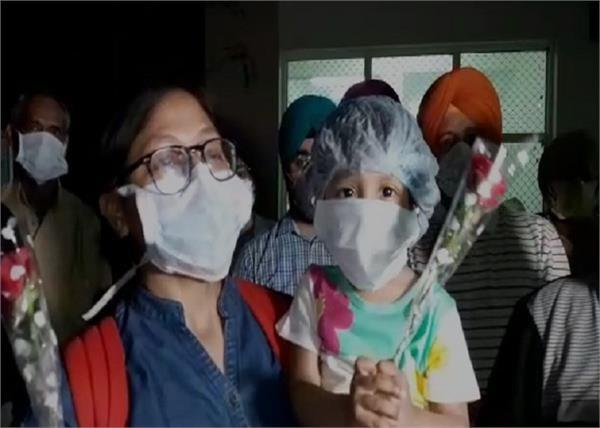 34 people sent home after getting healthy in patiala