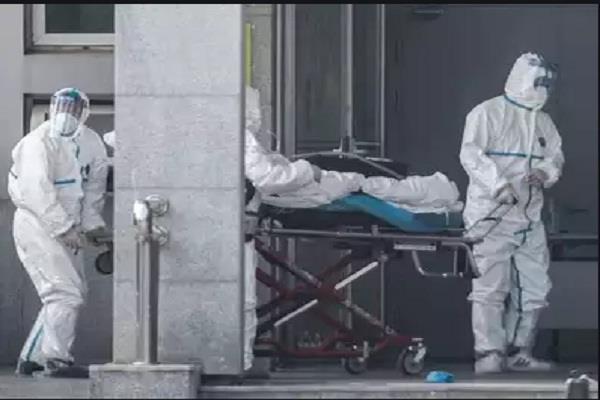 death of 71 year old corona virus infected in noida