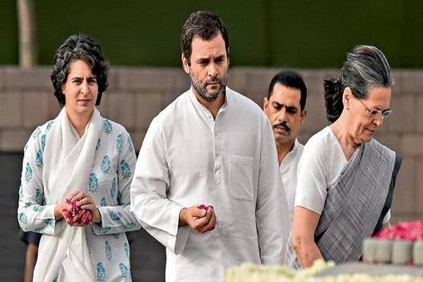rahul gandhi salutes his father rajiv gandhi