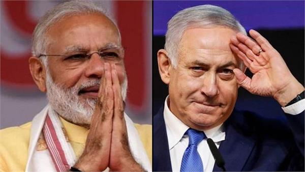 netanyahu thanks modi for congratulate on forming new govt in israel