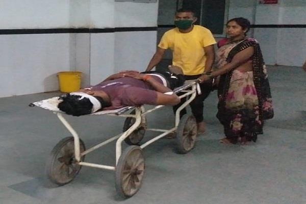 a big carelessness in chhatterpur