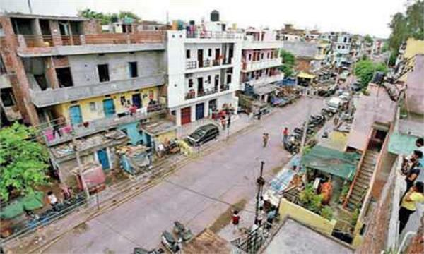 bapudham residents shouted slogans against the administration