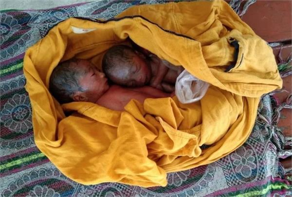 woman gave birth to twins at kaushambi station both died