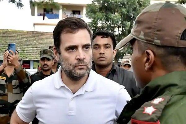 rahul gandhi sought information on indo china border dispute