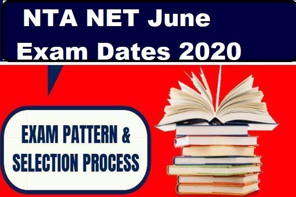 confirmed dates for nta net 2020 june exam soon hrd