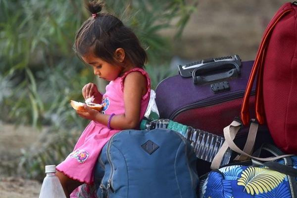 little innocent people are traveling for some such helplessness