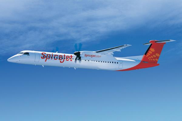 spicejet converted three q400 aircraft into cargo