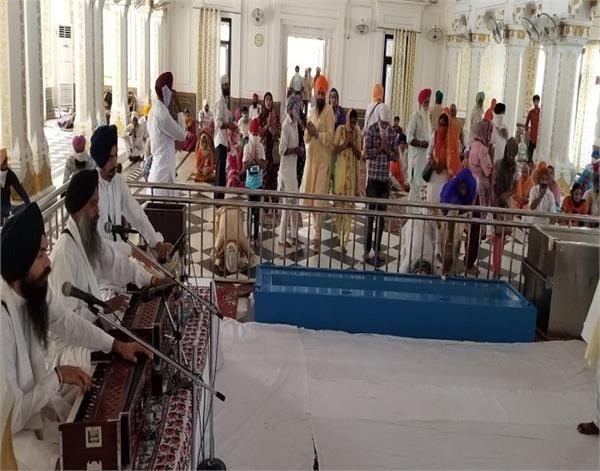 2 months later shri berry sahib returned to the gurdwara