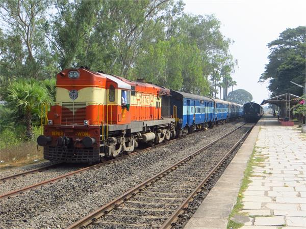 chandigarh got only one train due to red zone