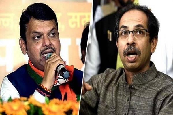 shiv sena warns to bjp about protest